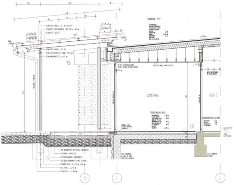 Schnitt vordach - Architektur schnitt ...