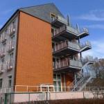 Fluchttreppe/Fassade 'Bettenhaus 2'