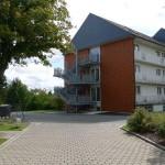 Fluchttreppe/Fassade 'Bettenhaus 1'