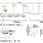 Wandgestaltung Patientenspeisesaal