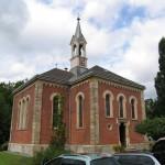Ansicht Friedhofskirche vor Sanierung